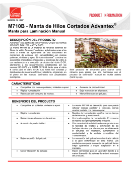 M710B - Manta de Hilos Cortados Advantex