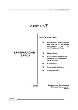 CAPÍTULO 7 - Escuela Nacional de Entrenadores Deportivos