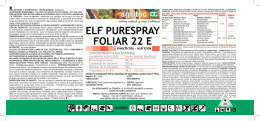 ELF PURESPRAY FOLIAR 22 E