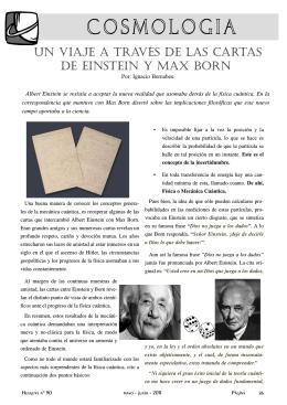 Einstein & Max Born