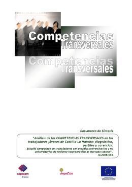 Análisis de las COMPETENCIAS TRANSVERSALES en los