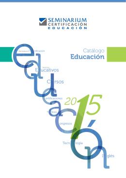 Educación - Seminarium Certificación