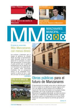 Nº 4 - Julio 2013 - Ayuntamiento de Manzanares