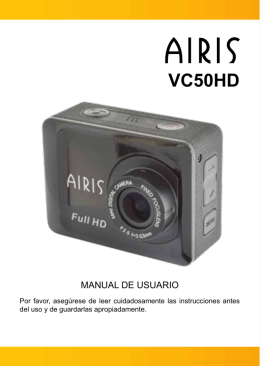 vc50hd - manual