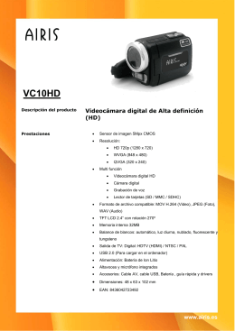 VC10HD - Airis