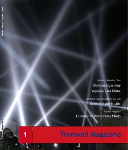Tronwell Magazine 1