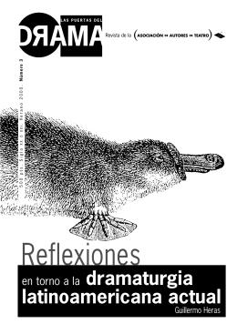 Dramaturgia latinoamericana actual Guillermo Heras, Osvaldo