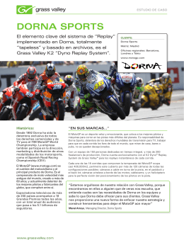 Dorna SportS - Grass Valley