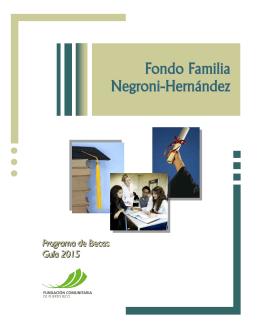 Fondo Familia Negroni – Hernández