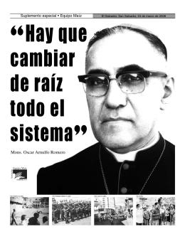 Monseñor Romero y la oligarquía