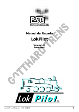 Manual LokPilotEsp