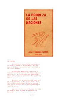LA PORTADA El dibujo de la portada –un peón con el saco al