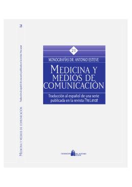 MEDICINA Y MEDIOS DE COMUNICACIÓN