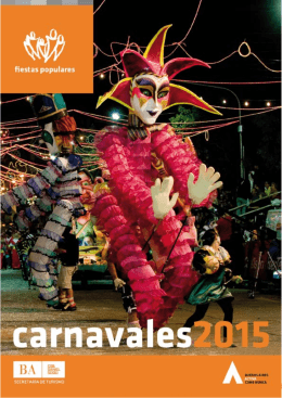 Guía de Carnavales 2015 - Turismo Provincia de Buenos Aires