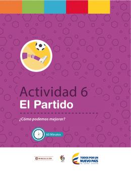 Actividad 6 - Colombia Aprende
