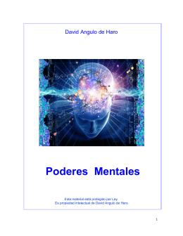 David A. de Haro – Poderes mentales