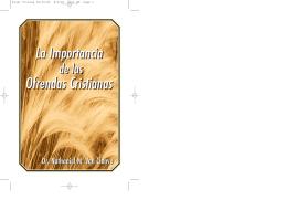 La Importancia Ofrendas Cristianas La Importancia Ofrendas