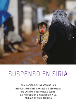 Suspenso en Siria - Oxfam International