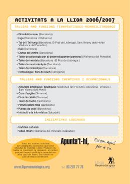 número 47  - Lliga Reumatològica Catalana