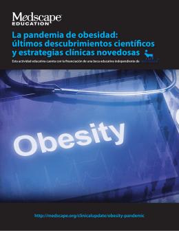 La pandemia de obesidad: últimos descubrimientos científicos y
