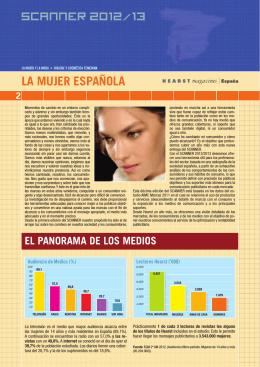 LA MUJER ESPAÑOLA SCANNER 2012/13