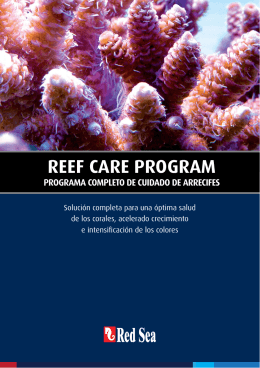 REEF CARE PROGRAM