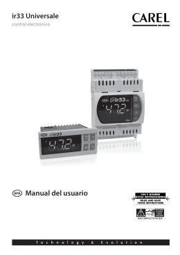 Manual Técnico IR33 Universal