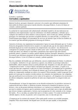 Cornudos y apaleados - Asociación de Internautas