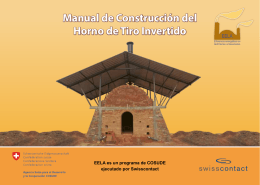 Manual de Construcción del Horno de Tiro Invertido
