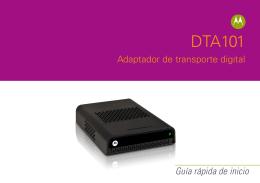 Manual de Motorola DTA101