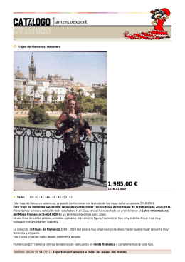1,985.00 € - Flamenco Export