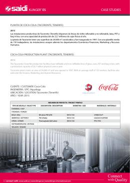 planta de coca-cola (tacoronte, tenerife)