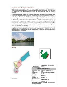 Puerto Nare - Gobernación de Antioquia