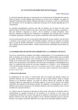 EL CONCEPTO DE DERECHOS HUMANOS[1][1]