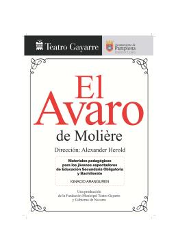 avaro - Teatro Gayarre
