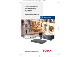 Sistemas Digitales de Seguridad y vigilancia Guía de Referencia