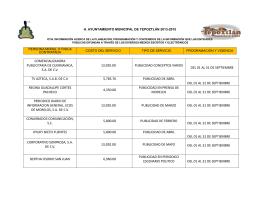 COMERCIALIZADORA PUBLICITARIA DE CUERNAVACA, S.A. DE