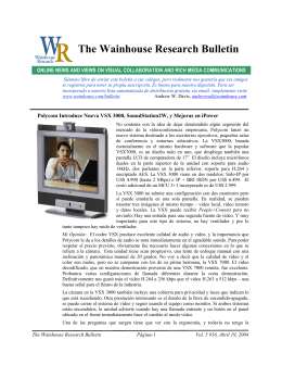 WR Bulletin Vol 5 Issue #16 19-Apr-04 (Spanish)