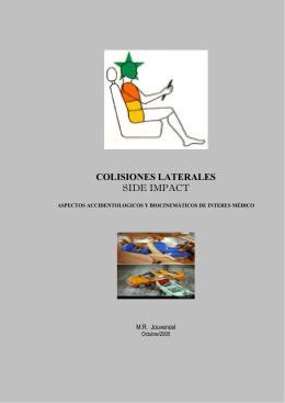 COLISIONES LATERALES - Peritaje Medico Forense