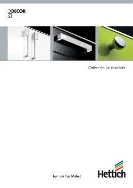 Colección de tiradores