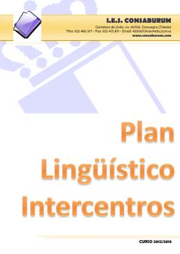 Plan Lingüístico Intercentros