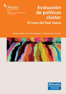 Evaluación de políticas clúster El caso del País Vasco