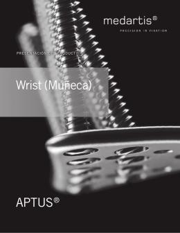 WRIST (MUNECA) - Presentation del producto