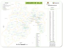 SECRETARIA DE SALUD Descripción del Mapa