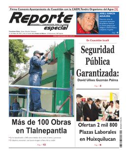 Ciudad - Reporte Especial