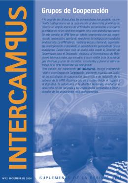 Revista Intercampus nº 12 - Universidad Politécnica de Madrid