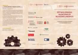 séptimas jornadas valencianas de relaciones laborales
