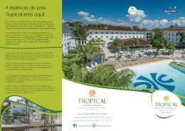 Tropical Manaus Ecoresort Folder