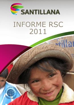INFORME RSC 2011
