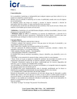 Clase 2. - Instituto ICR
